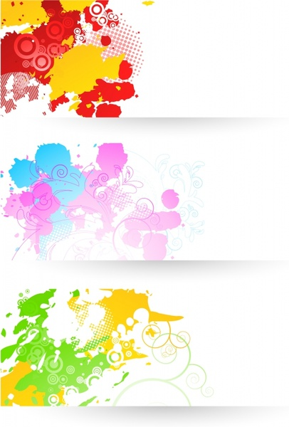 abstract background templates colorful grunge decor