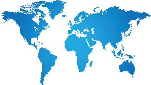 Simple World Maps Vector Free Vector In Encapsulated Postscript Eps