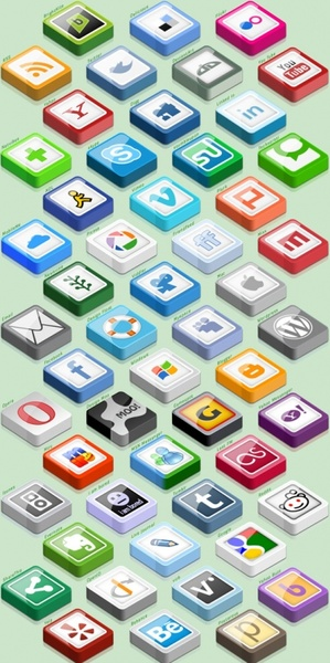 Simply Smooth Socials v3 icons pack