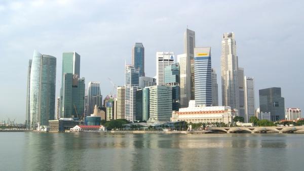 singapore city skyscrapers