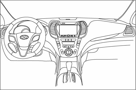 sketch car central vector