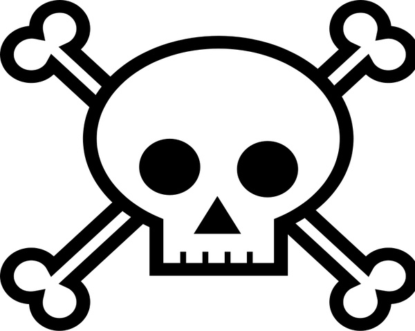 Skull And Crossbones Free Vector In Open Office Drawing Svg G