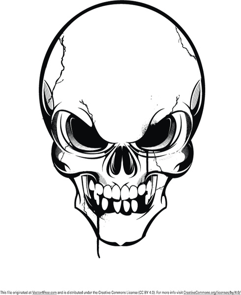 skull vector free vector in encapsulated postscript eps eps rh all free download com skull vector graphic skull vector art free