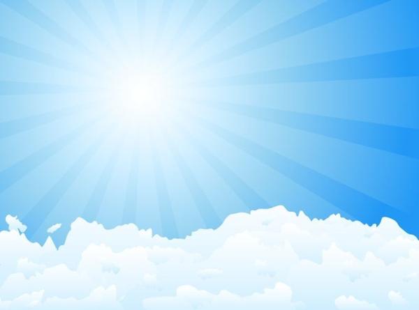 sunshine sky background bright vivid decor sunbeam icon
