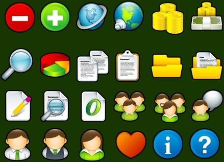 Sleek XP Basic Icons icons pack