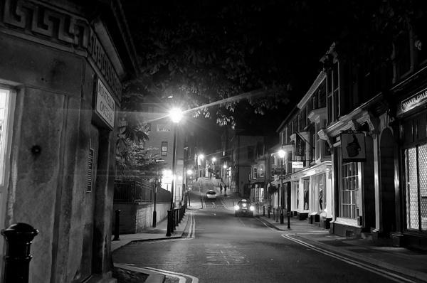 sleeping town