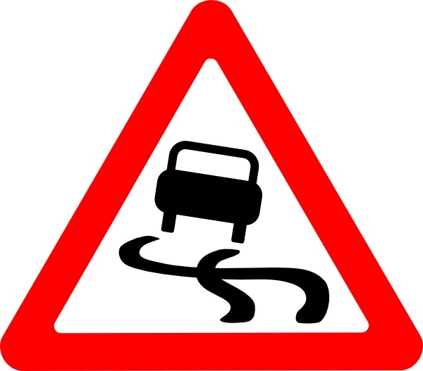 slippery road sign clip art free vector in open office drawing svg rh all free download com road sign clip art 66 road sign clip art 66