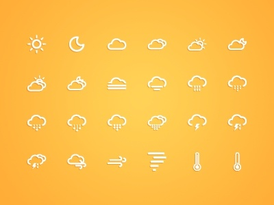 small fresh weather icon vector