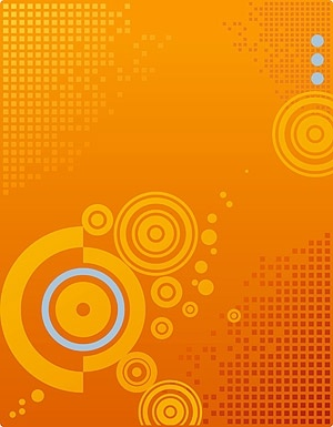 small square grid background vector background on circular elements