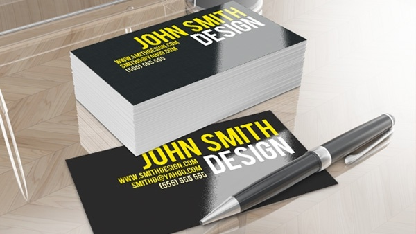 Smithy Clean Business Card