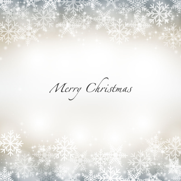 snow flake merry christmas background