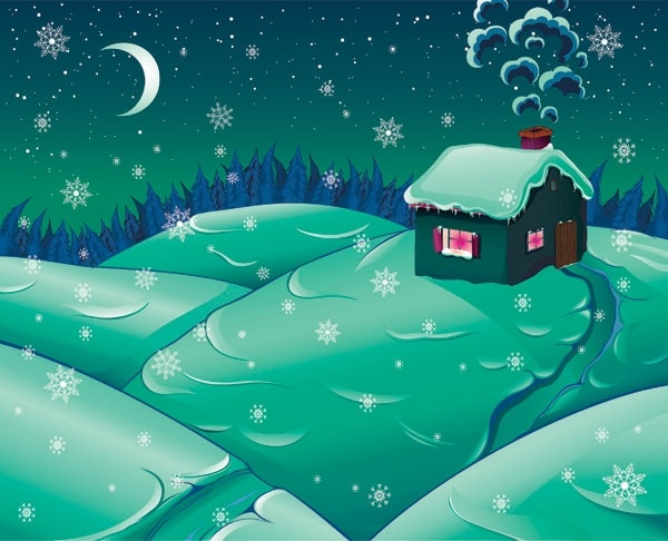 snow vector 3
