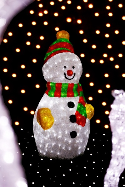 snowman christmas decoration