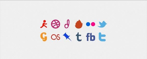Social Media Glyphs
