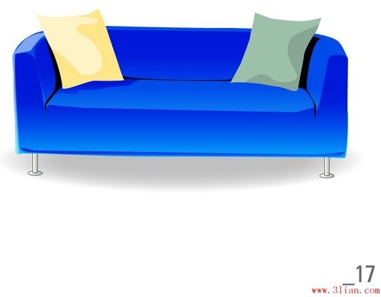 Sofa Vector Free Vector In Adobe Illustrator Ai Ai Vector
