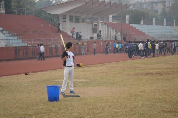 softball practice