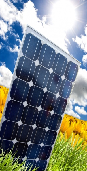 solar panels highdefinition picture series of four