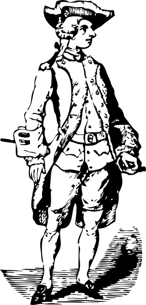 Soldier Historic Cothing Clip Art Free Vector In Open