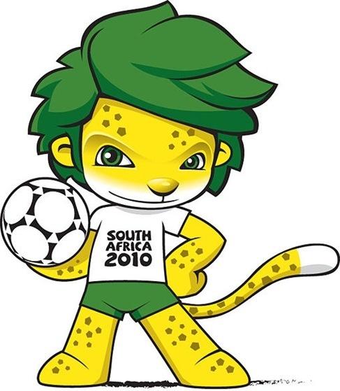 South Africa 2010 World Cup Mascot ZAKUMI Vector