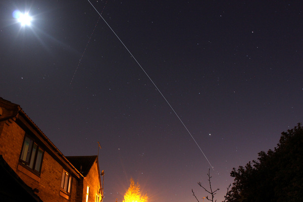 space station flyover