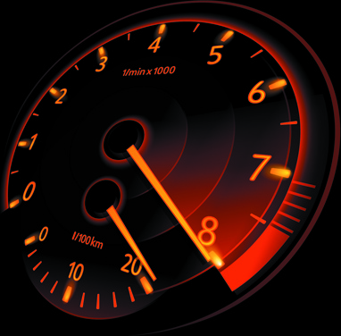 Speedometer vector set Free vector in Encapsulated