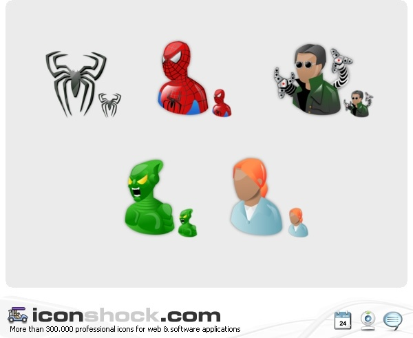Spiderman Vista Icons icons pack