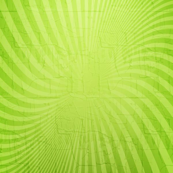 spiral ray green grunge background