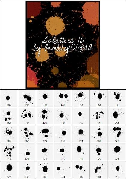 Splatters 16