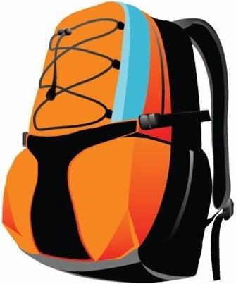 Sport Backpack Vector