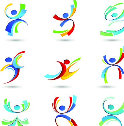 arts and sports club logo free vector download 217091