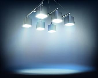 Spotlight light design background vector free vector in