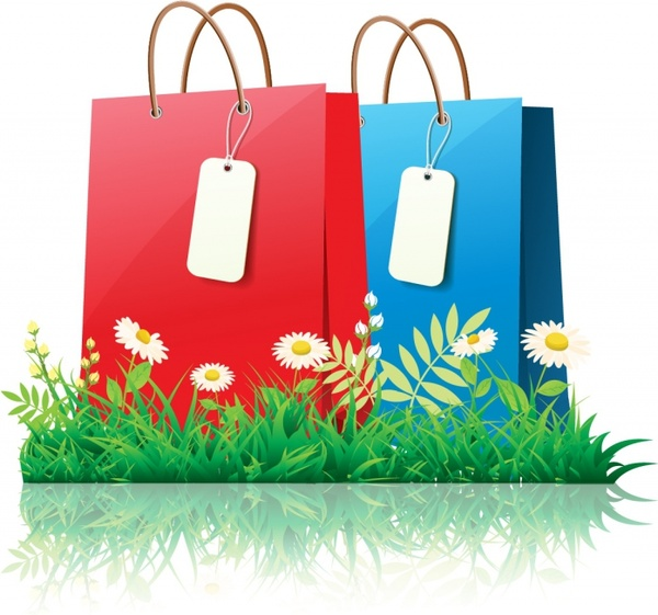 Spring time shopping