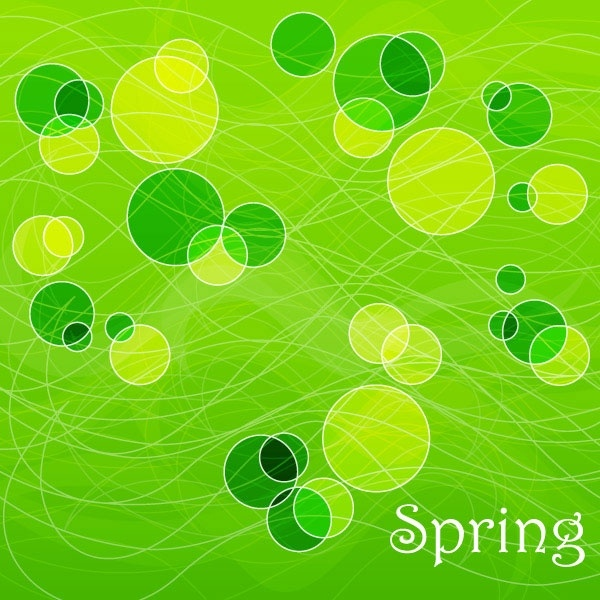 spring vector background 2