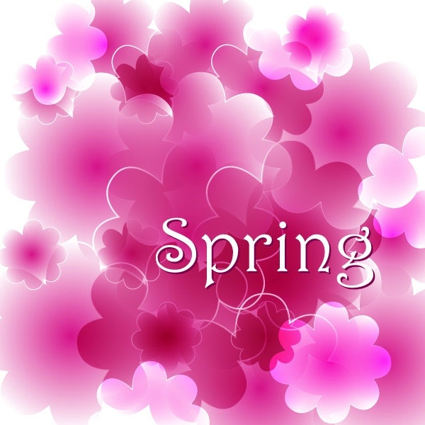 spring vector background 3