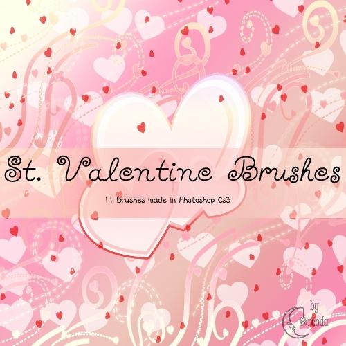 St. Valentine brushes