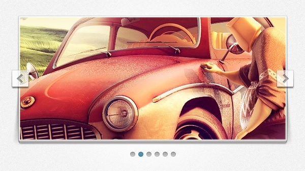 Stack Image Slider PSD