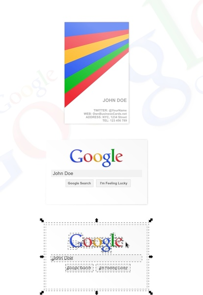 Standard business card free vector in open office drawing svg g standard business card colourmoves