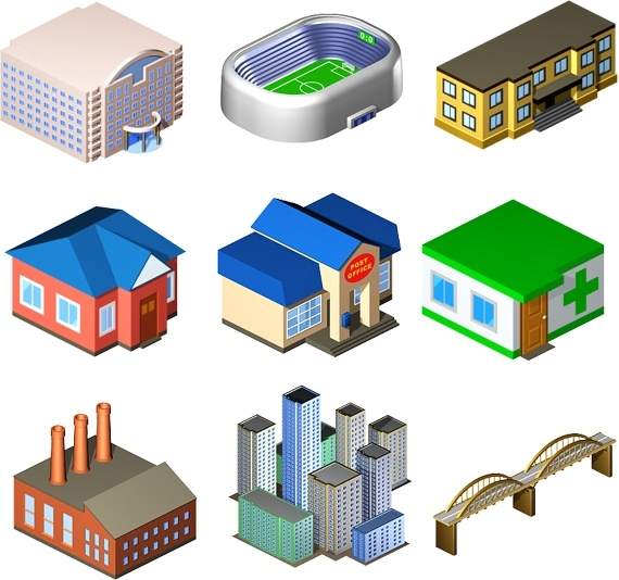 Standard City Icons icons pack