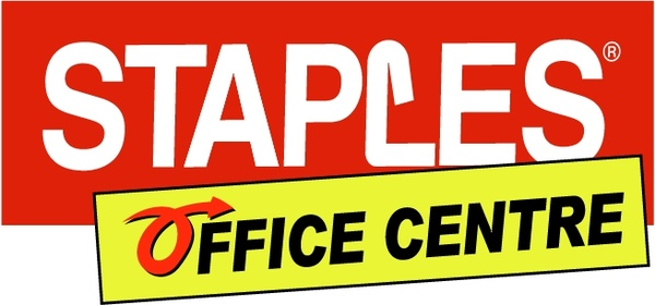 Staples office centre Free vector in Encapsulated PostScript eps ( .eps ) vector illustration graphic art design format, Open office drawing svg ( .svg ) vector illustration graphic art design format format