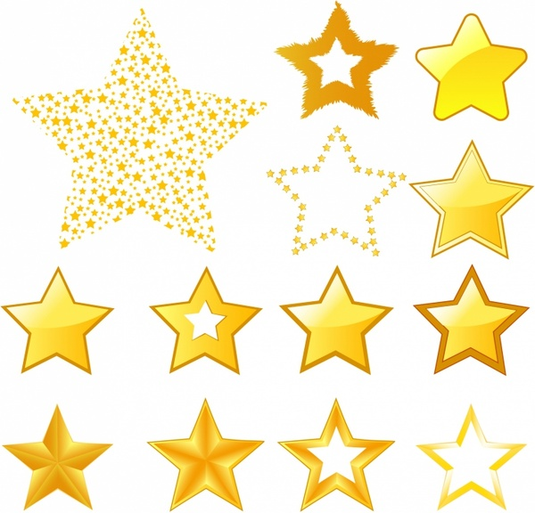 Star Icons Free Vector 246MB