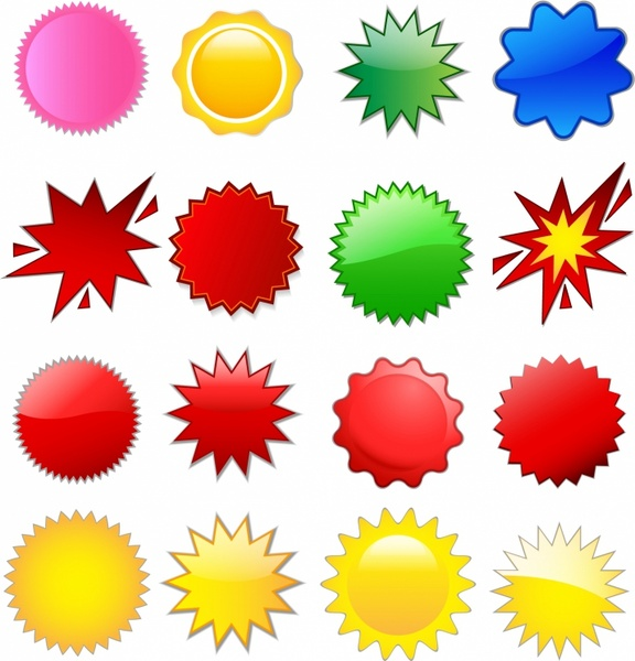 starburst free vector download (32 free vector) for commercial use