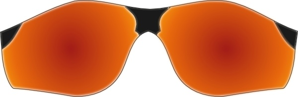 Startright Sunglasses clip art Free vector in Open office ...