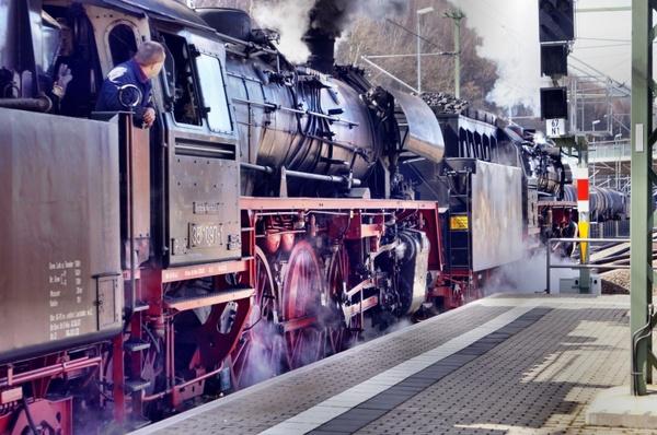 steam locomotive locomotive train
