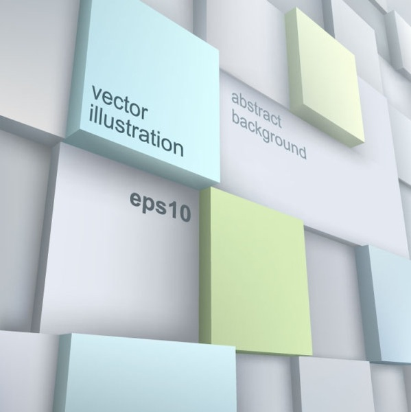 stereoscopic technology background 03 vector