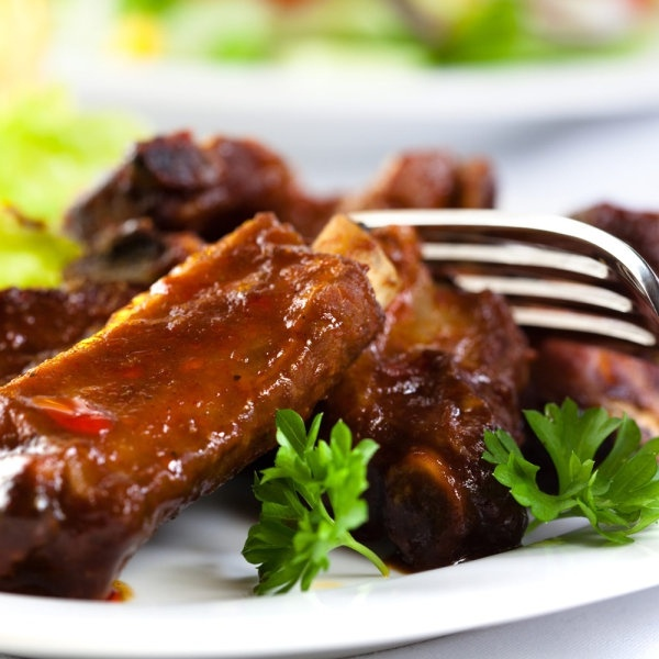 stock photo of braised ribs highdefinition picture