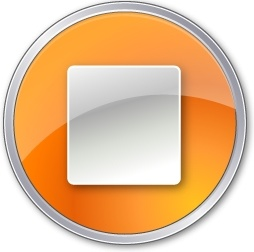 Stop Normal Orange