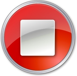 Stop Normal Red