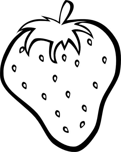 strawberry clip art free vector in open office drawing svg svg rh all free download com strawberry clip art black and white strawberries images clip art