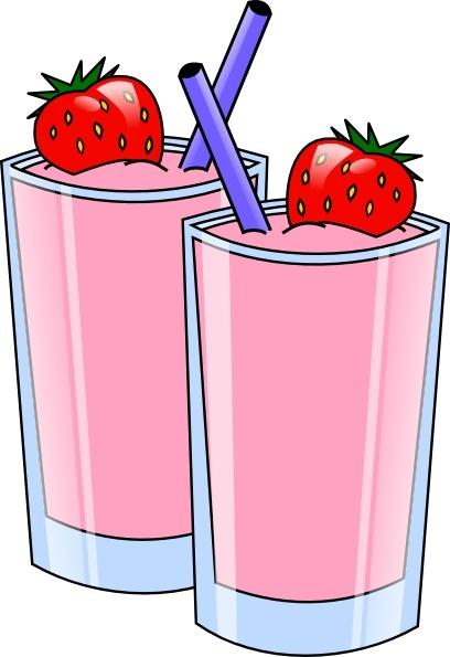 strawberry smoothie drink beverage cups clip art free vector in open rh all free download com drink clip art free drunk clip art