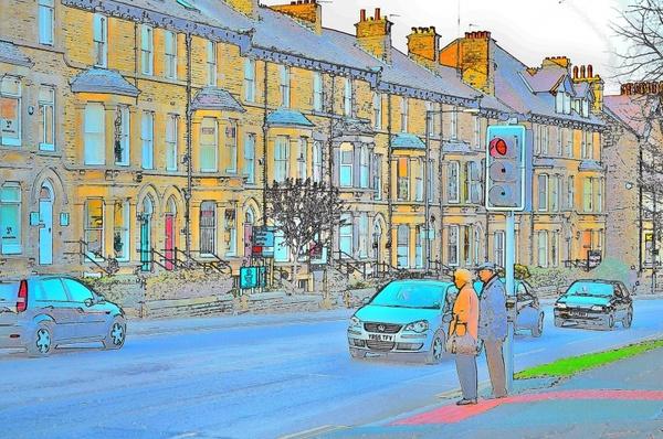 street color sketch